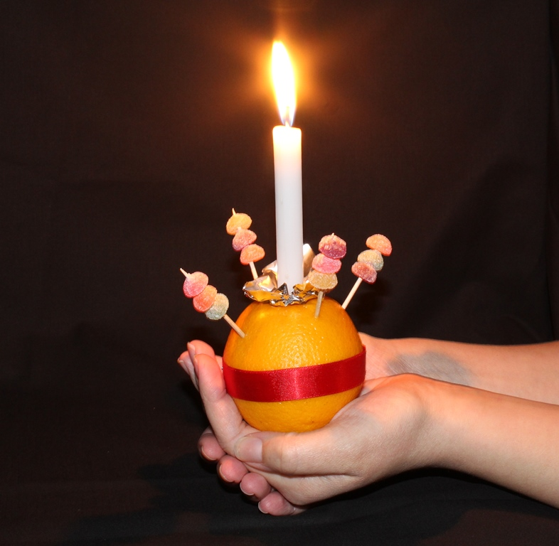 Image result for christingle