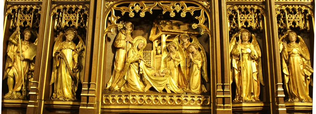 Nativity Reredos